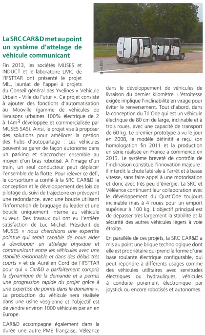 Article de CAR&D et Muses